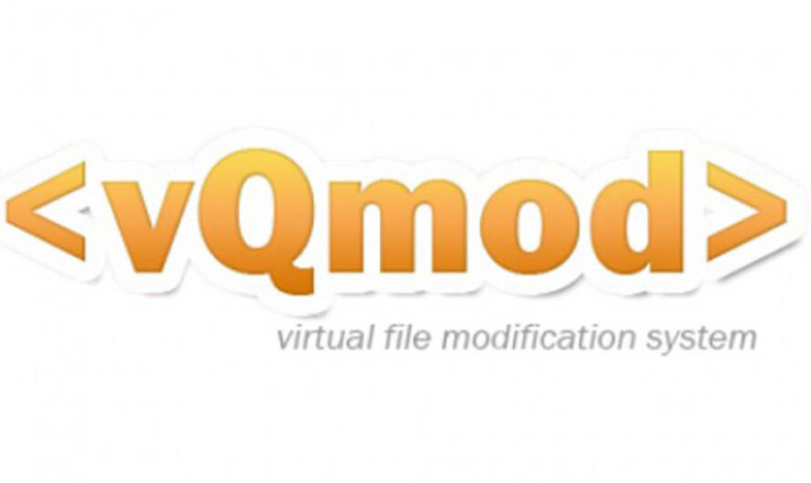 How to Install Opencart Vqmod ?